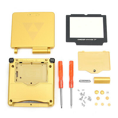 Housing Shell Case+Screen Cover+Tool G Replacement For Gameboy Advance SP GBA SP