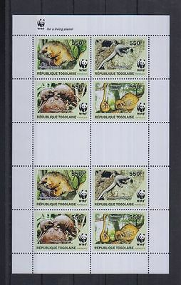 7W Togo - MNH - Nature - Animals - Reptiles - WWF