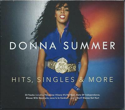 Donna Summer - Hits, Singles & More - Greatest Hits 2CD 2015 NEW/SEALED