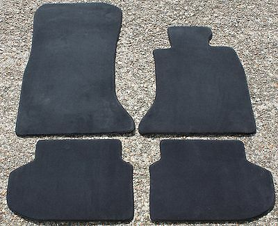 NEW GENUINE BMW 5 SERIES F10 F11 VELOUR FLOOR MATS MAT SET 2012-2016  ref: 381