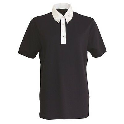 MARK TODD BRAD MENS COMPETITION POLO SHIRT NAVY horse riding wear for men