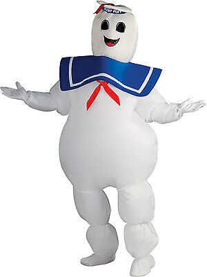 Ghostbusters Inflatable Stay Puft Marshmallow Costume Adult Standard