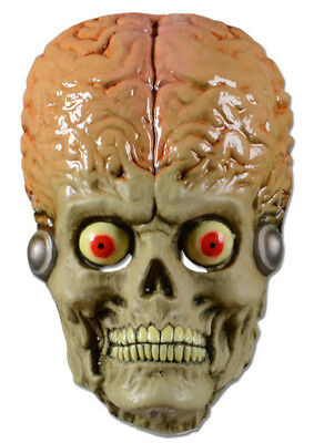 Mars Attacks Martian Soldier Costume Vacuum Mask Adult One Size