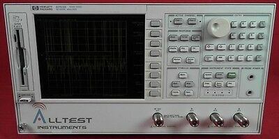 Agilent 8753E -006-011 RF Vector Network Analyzer to 6 GHz with  006/011