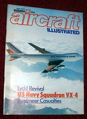 Aircraft Illustrated 1977 April Lydd Airport,VX-4,Smithsonian