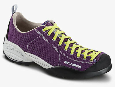 Shoes SCARPA MOJITO FRESH Women's colour Dark Violet Lime