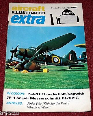 Aircraft Illustrated Extra 6 RAF in India 1919-39 Wapiti,Faqir