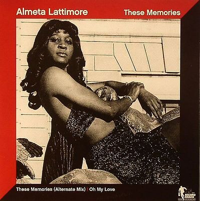 "LATTIMORE, Almeta - These Memories (alternate mix) - Vinyl (7"")"