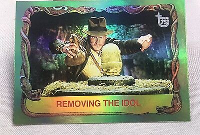 Free Postage TOPPS 75th Anniversary Rainbow Raiders of the Lost Ark Parallel 79