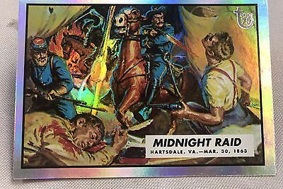 Free Postage TOPPS 75th Anniversary Rainbow Foil 24 Civil Wars News Parallel