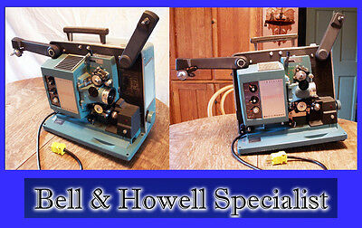 BELL & HOWELL Specialist 16mm Silent Sound Projector 1960s?