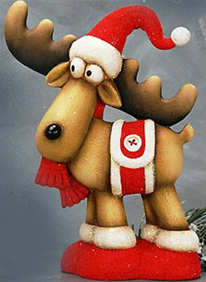 Ceramic Bisque Ready to Paint Dancer Reindeer Brand New!