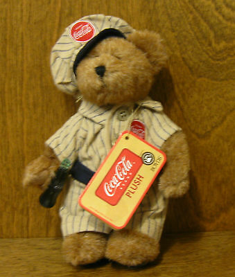 "Boyds Ornament #919944 DALE 6"", NEW w/ tags From Retail Store COCA COLA Plush"