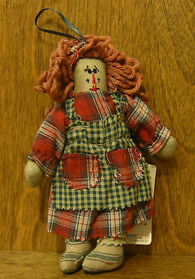 "Boyds Plush Ornaments #56280-01 Sassafrass, 5.5"" Tall NEW/Tag From Retail Store"