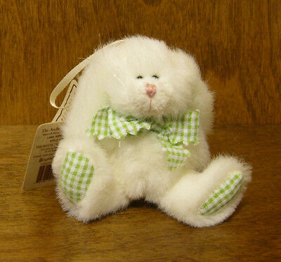 "Boyds Plush Ornament #561932 LANA HOPPENNIBBLE, New From Retail Store 4"" BUNNY"
