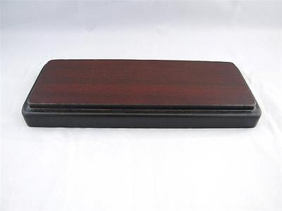Oblong Wooden Display Base.