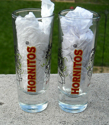 2 New Hornitos Tequila Shot Glasses Evite El Exceso