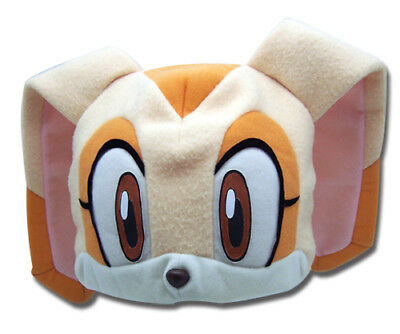 95320fa7426 Beanie Cap - Sonic The Hedgehog - New Cream Fleece Plush Cosplay Hat ge2336