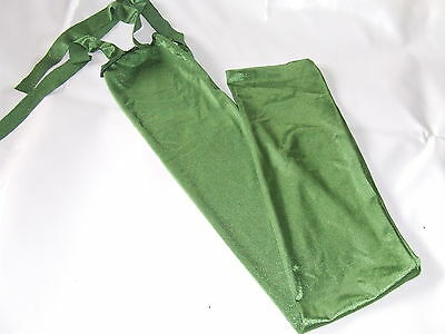 Ecotak Lycra Rugless Tie in Tail Bag - Olive Ecotak