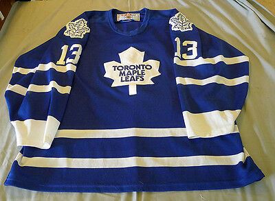 Early Vintage NHL Toronto Maple Leafs Mats Sundin Official Hockey Jersey