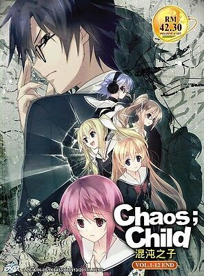 CHAOS; CHILD | Episodes 01-12 | English Audio!! | 2 DVDs (GM0381)-LU