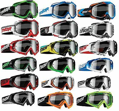 Thor Ally Hero Enemy Goggles Mx Atv Motocross Gear Motorcycle Red Black Blue