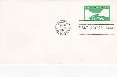Canal Zone 1971 Balboa CDS First Day Cover VGC Unadressed