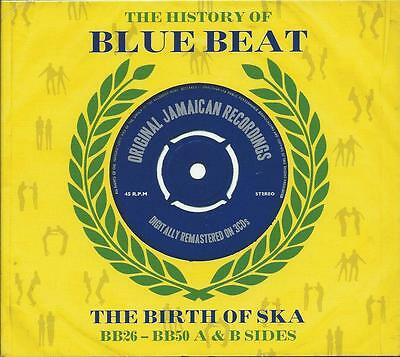 The History Of Blue Beat - Birth Of Ska BB26-BB50 The A Sides (2LP Vinyl) NEW