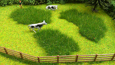3 New large Wild Scruffy Coarse Grass Clumps for Railway/Dioramas/Scenery