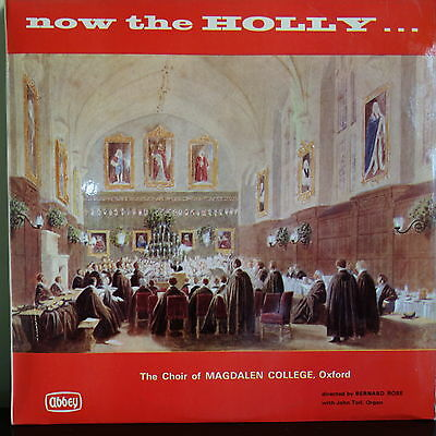 Abbey 653 Now The Holly…The Choir of Magdalene College, Oxford / Bernard Rose