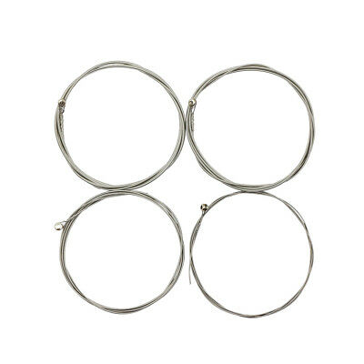 4 Pieces Replacement Bass Strings G/D/A/E for Electric Bass Accessory Parts