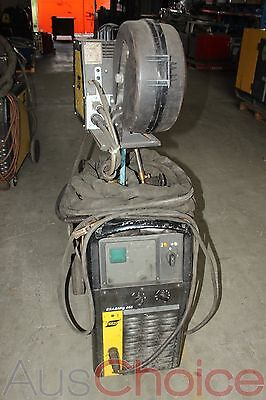 ESAB ESABMig 405 Welder w M12 ESABFeed 30-4 Wire Feeder - 3 Phase #2