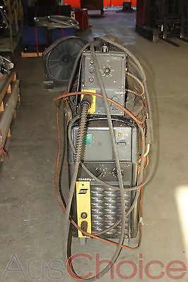 ESAB ESABMig 405 Welder w M12 Feed 304 Wire Feeder - 3 Phase #2