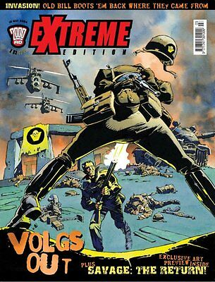 """2000AD ft JUDGE DREDD presents """"EXTREME - ISSUE 3"""" - 2004 - EXCELLENT CONDITION"""