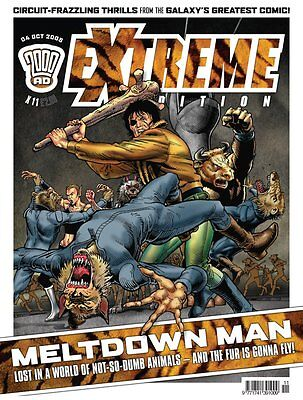 """2000AD ft JUDGE DREDD presents """"EXTREME - ISSUE 11"""" - 2005 - EXCELLENT CONDITION"""