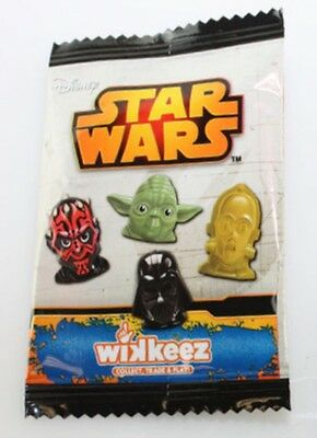 50 X Disney Wikkeez Star Wars Wholesale Job Lot Party Lucky Bag Dip Fete Toy