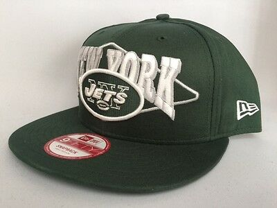quality design 5da5a eb608 New York Jets New Era NFL Geo Block 9Fifty Snapback Cap Hat  28 S M