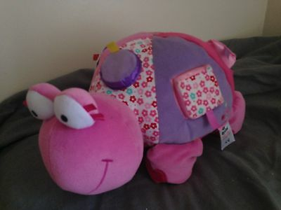 Pink Turtle Activity Toy Baby Girl
