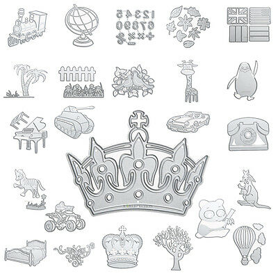 New Metal Cutting Dies Stencil Scrapbook Paper Cards Craft Embossing DIY Die Cut