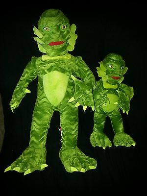 """Stuffins 1999-CREATURE FROM THE BLACK LAGOON-16"""" & 24""""-NM w/Tags-Ships Worldwide"""