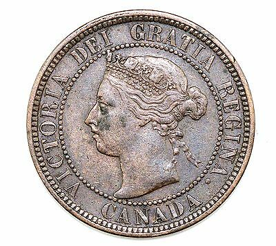1892 Canada Large Cent XF Condition