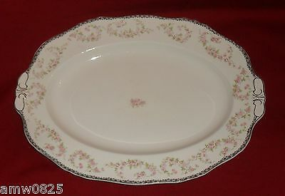 Alfred Meakin Harmony Rose Large Oval Serving Platter Plate Replacement China