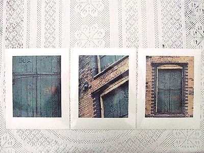 """Photographic Art Prints x 3 (hand printed, Agfa photographic paper size 10""""x8"""")"""