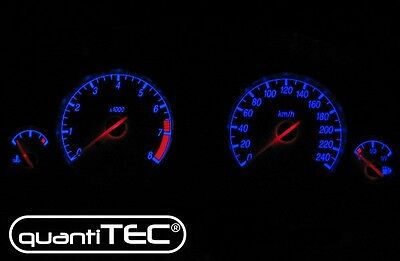 PLASMA TACHO Speedometer dial SET Ford Mondeo MK3 00-04- 240 km/h Blue WHITE NEW