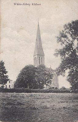 lo irish postcard ireland kildare white abbey