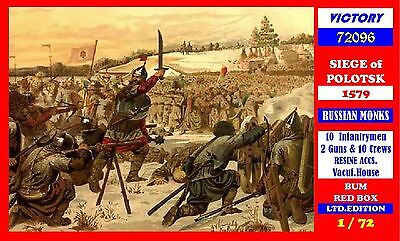 B.U.M SERIE 1/72 - SIEGE OF POLOTSK 1579 - Russian MONK - LIMITED EDITION BOX