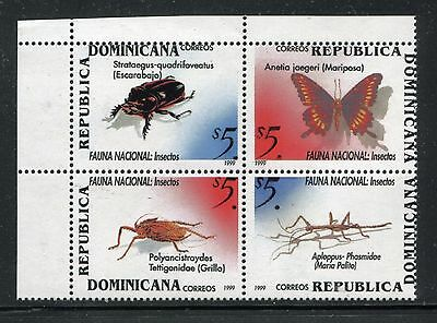 Dominican Republic 1317, MNH. Insects Beetles 1999. x26005