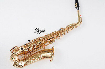 Professional Musical Instruments Alto E flat Brass Contralto Saxophone/Althorn