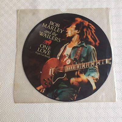 "Bob Marley One Love People Get Ready  12"" VINYL PIC PICTURE DISC"