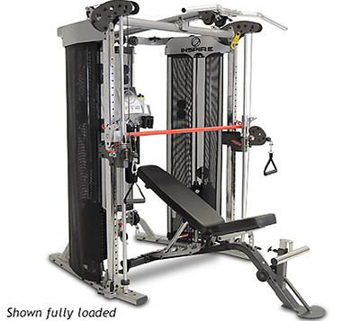 Inspire Fitness FT2 Functional Trainer Smith Machine Gym Package FULLY LOADED